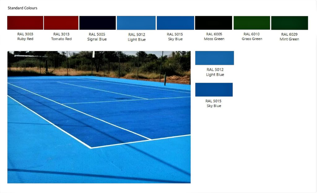 Tennis Court Paint Midas Earthcote Paints Tygervalley