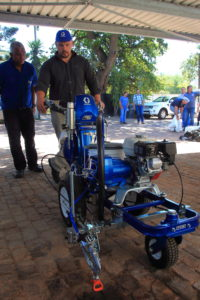 Midas Paints Tygervalley traning day MBA Paarl