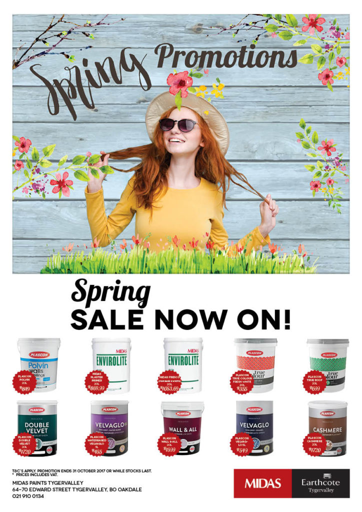Midas Paints Tygervalley Spring Promotions